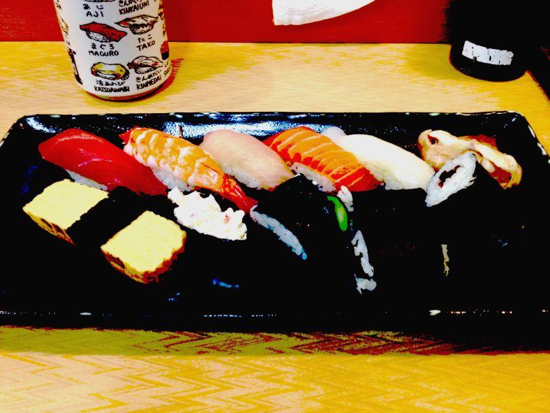 Sushi at 6am